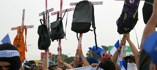 Cientos de personas tomaron las calles de Managua en agosto de 2018 exigiendo justicia para las víctimas que sufrieron la represión durante las protestas.FOTO ARCHiVO: Oficina Regional de las Naciones Unidas para los Derechos Humanos