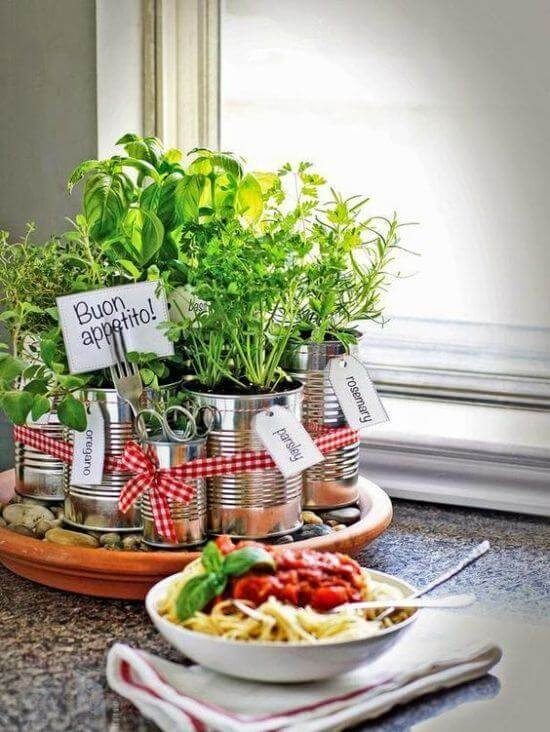 Set up a little garden at home with easy crafts