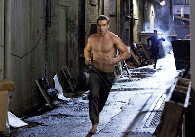Jai Courtney as Kyle Resse, in Terminator Genisys, Directed by Alan Taylor
