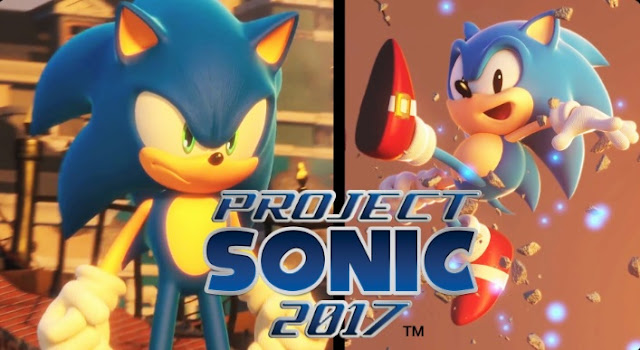 Project Sonic 2017 & Sonic Mania announced for current consoles