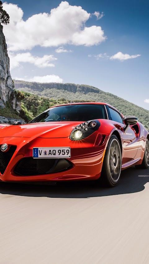 Siêu xe alfa Romeo 4C AU Spec