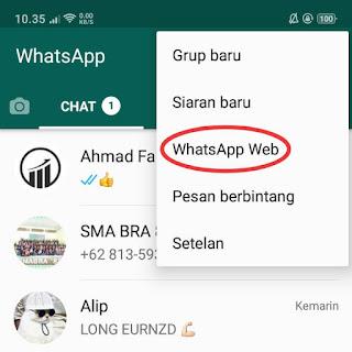 cara menggunakan whatsapp web tanpa android