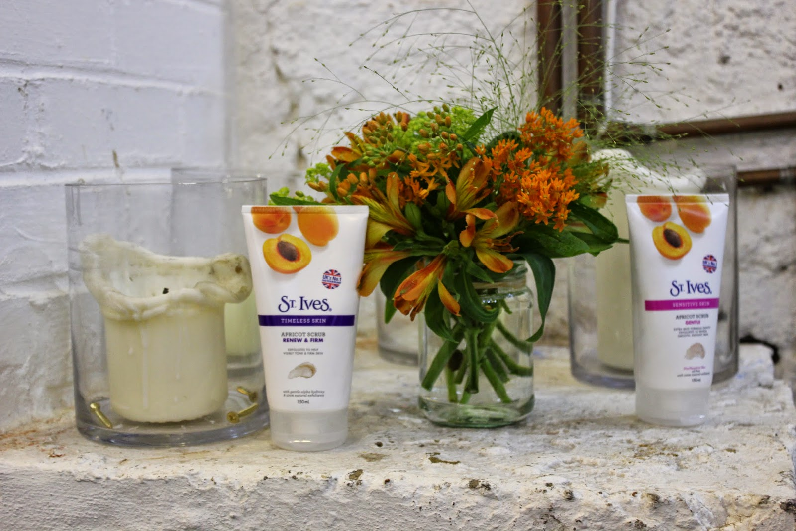 St Ives Skincare Candles