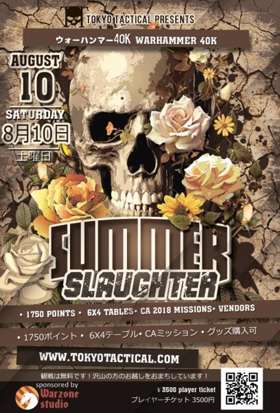 Summer slaughter 40k