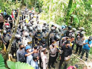 Kapolres Purworejo 11 Orang Telah Diperiksa Kemudian Sudah Kami Bebaskan