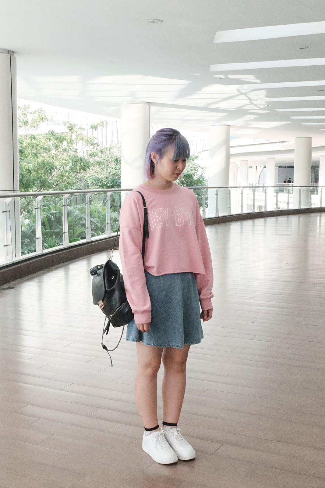 Hey Bye Pastel Outfit | www.bigdreamerblog.com