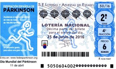 decimos loteria nacional sabado 25 junio 2016