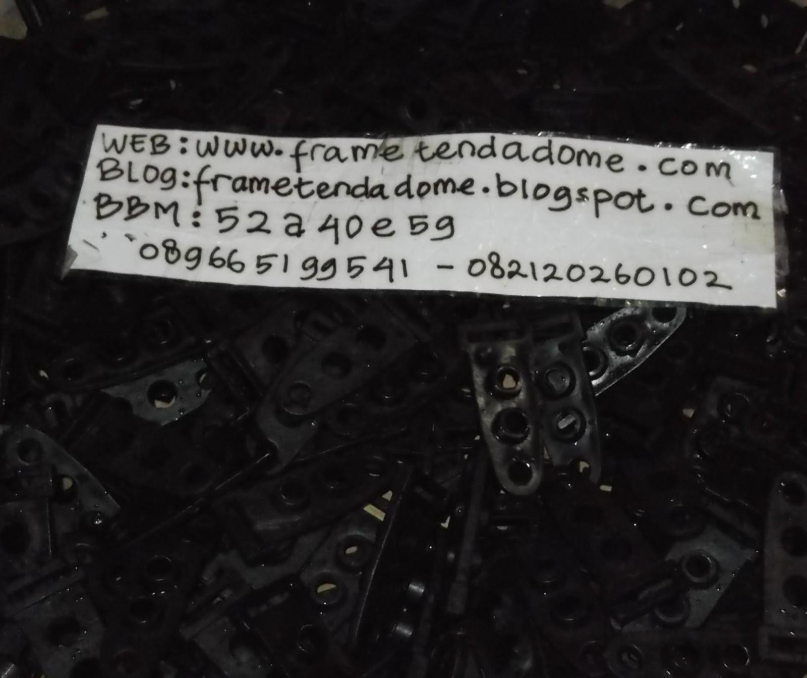 Pabrik Frame Tenda Dome Sejak 1980 Bandung Pengait Whatsapp Telephone Sms 082120260102