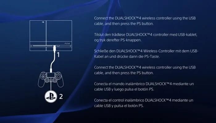جهاز تحكم PS4 Connect