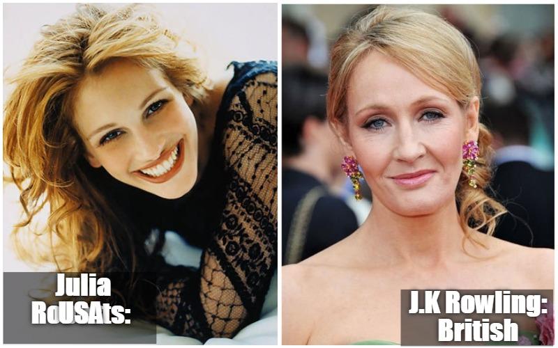 Julia Roberts Vs J.K Rowling