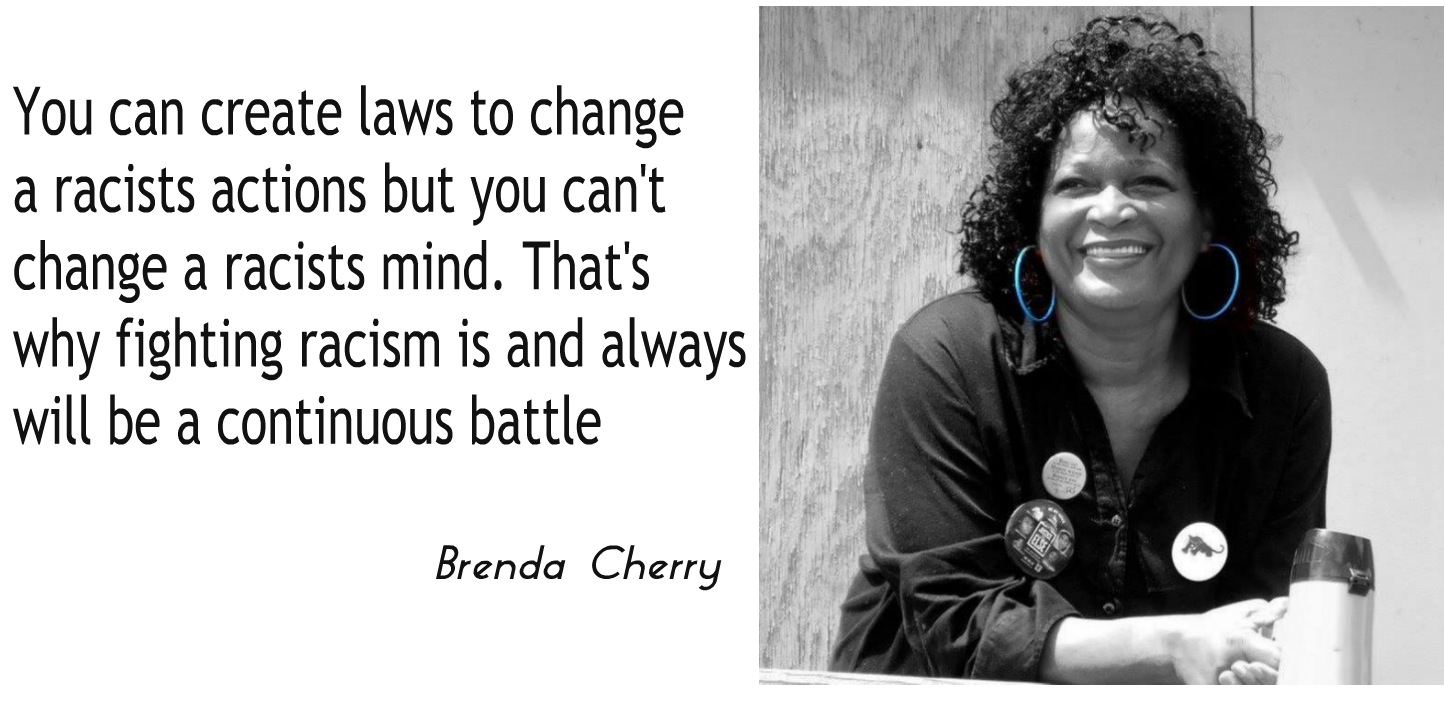 Quotes On Racism Quotes From Brenda Cherry Paris Texas Civil Rights Activist  The