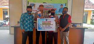 Bantuan Langsung Tunai 600,000 Perdana di Desa Sebaung