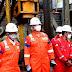 Tinjau Kinerja Hulu, Ahok Kunjungi Fasilitas Offshore Blok Mahakam