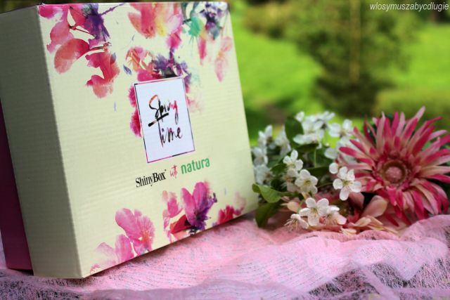 ShinyBox – Spring Time – Kwietniowe pudełko ShinyBox with Natura