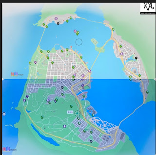 ウォッチドッグス2のマップ広さ