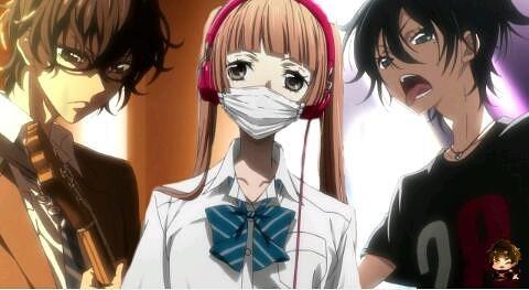 Ketika Artikel Ini Ditulisfukumenkei Noise Masih Dalam Keadaan On Goingtayang Di Musim Spring 2017menjadi Salah Satu Anime Cinta 3 Segi G Musik Yang