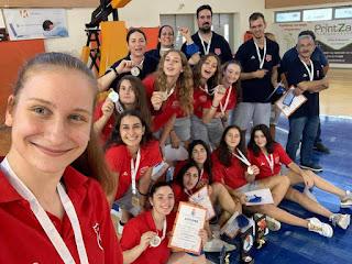 Συγχαρητήρια σε Κρόνο (αργυρό νεανίδων) και Ολυμπιακό (χάλκινο εφήβων)