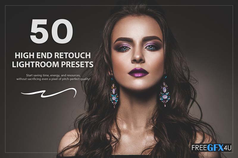 50 High End Retouch Lightroom Presets