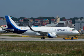 1st A320N for Kuwait Airways