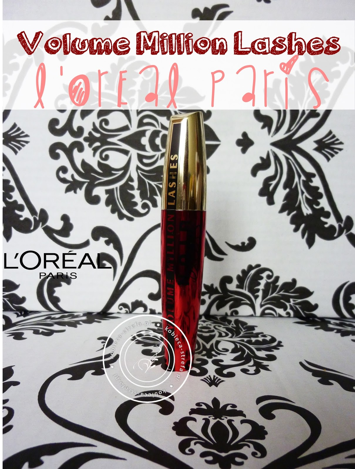 L'Oreal Paris – Tusz do rzęs VOLUME MILLION LASHES EXCESS NOIR