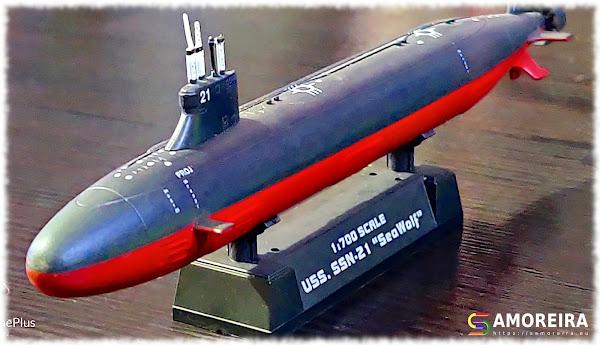 Submarino Nuclear SSN-21 - USS Seawolf