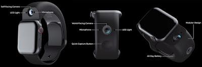 Apple Watch,Apple,Wristcam,4K,Bluetooth,