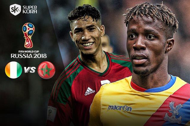 مشاهدة مباراة المغرب وكوت ديفوار