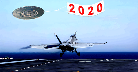 2020 – A Year of UFO News Almost Too Strange To Believe