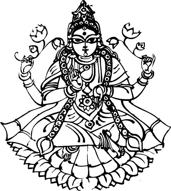Shivling Hanuman Coloring Pages