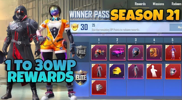PUBG Lite Winner Pass Season 21 release date revealed