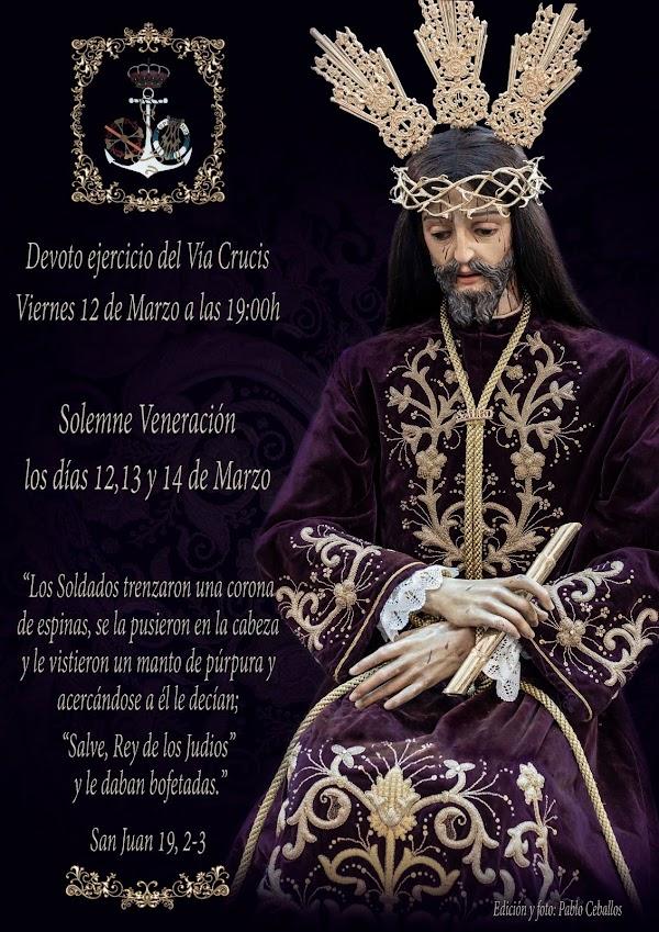 Este Viernes Via Crucis de Nuestro Padre Jesús de la Salud de Cádiz