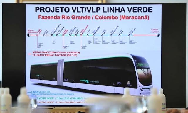 Governo do Paraná quer sistema elétrico de transporte ligando Colombo a Fazenda Rio Grande