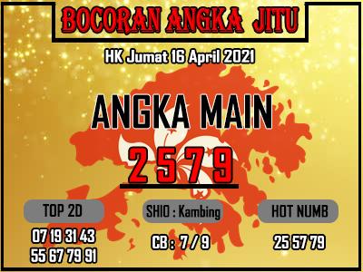 Bocoran HK 2D Jumat 16 April 2021