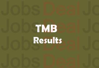 TMB Clerk Result 2017