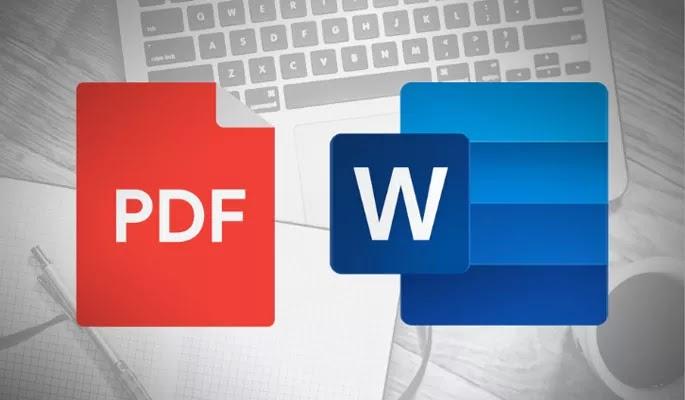 Chuyển đổi file PDF sang Word bằng chính Microsoft Word hoặc Google Docs(Tài liệu) đơn giản