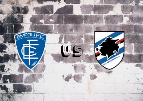 Empoli vs Sampdoria  Resumen