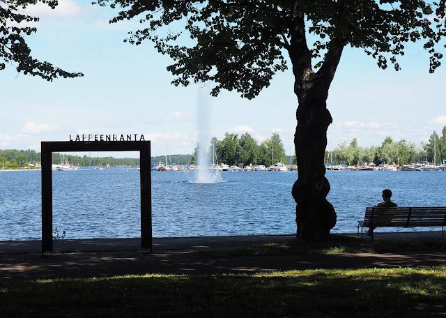 Lappeenranta, postikortti, visiitti, saimaa, satama, kotimaanmatkailu, kesaloma lappeenrannassa