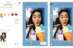 Cara Repost Instastory Instagram orang lain