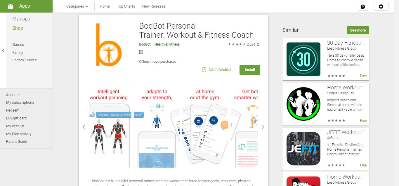 BodBot App