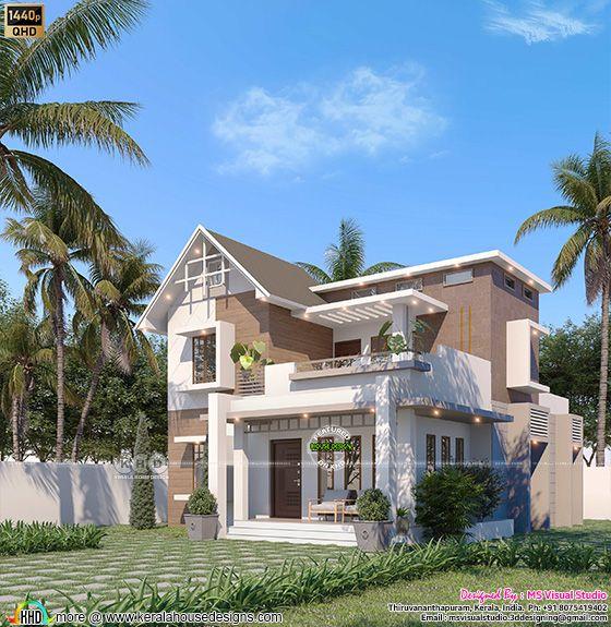 Mixed roof villa type A