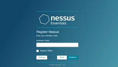 Nessus activation