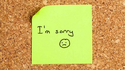 Cara meminta Maaf Dalam Bahasa Inggris