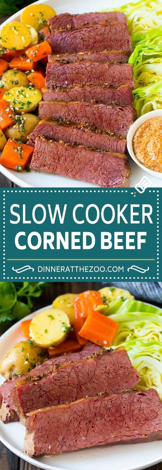 Slow Cooker Corned Beef and Gabbage