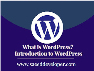 what is WordPress | introduction to wordpress