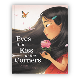 """Book cover of """"Eyes that Kiss in the Corners"""""""