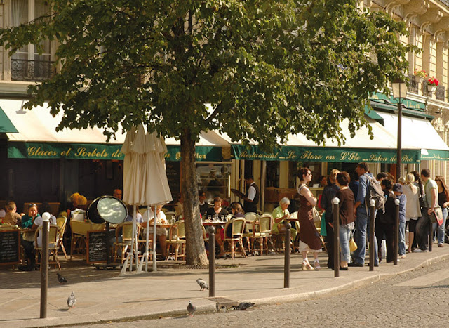 Restaurante Le Flore en L'Ile em Paris