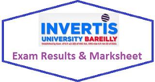 Invertis University Results 2020