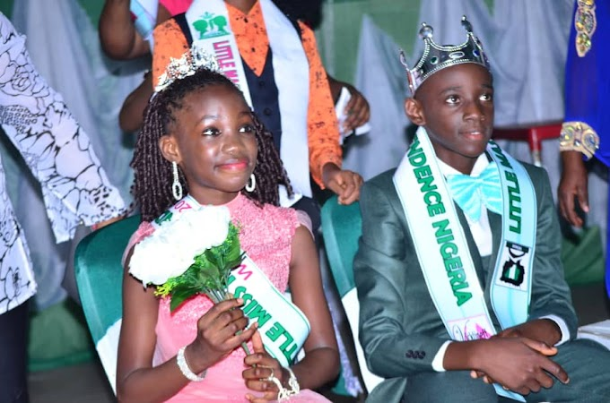 Davine Edem And Rachael Sussie  Emerge Little Master and Miss independence 2019