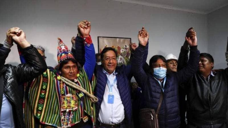 De la mano de Arce, el partido de Evo retorna al poder en una Bolivia dividida y en crisis