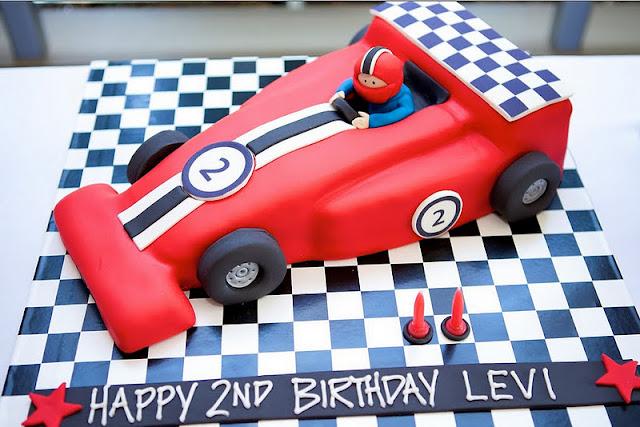 Kara S Party Ideas Grand Prix Ferrari Race Car Birthday